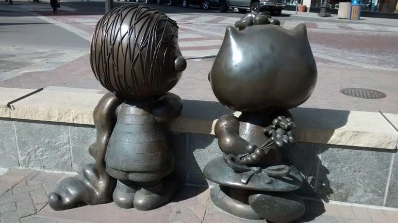 Linus and Sally.
