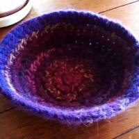Day 263/365:  The Failed Felted Bowl